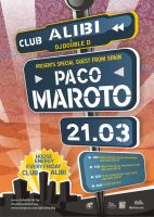 Paco Maroto Poster by r77adder