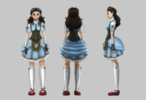 Steampunk Dorothy Final by MKUSecondGeneration2