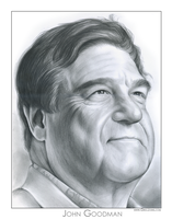 John Goodman by gregchapin