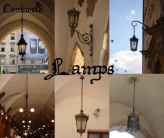 Lamps by Comacold-stock