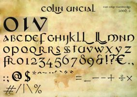 COLIN UNCIAL TYPES by colin17