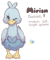 Miriam the Ducklett by Yakalentos
