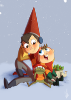 OTGW - Merry Christmas and Happy Holidays by KicsterAsh