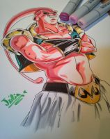 'For the first time in forever' - Buu with Copics! by delPuertoSisters