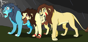 Last Stand by BlackWolf1112-ADOPTS