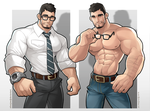 The Perfect Man by silverjow
