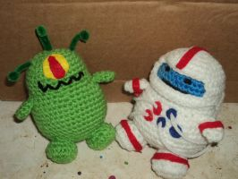 Binky the Bubbly Astronaut Discovers Alien Life by Billiam622