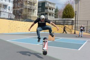 The Skateboarder Action Shot 15 by Miss-Tbones
