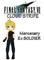 FFVII Roles Cloud by TheGirlCalledJef