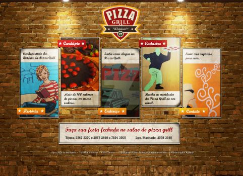 Pizza Grill by dpaola