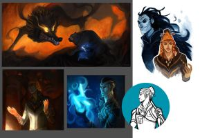 Silmarillion Stuffs by Grimhel