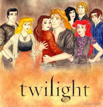 Disney movie poster -Twilight- by Larocka84