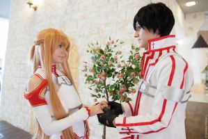 Asuna and Kirito 7 by AmethystPrince