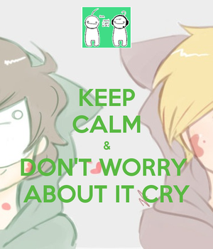 keep calm and ... by darkness-angel-13