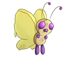 Gotta Eat 'Em All #12: Butterfree (Adoptable) by His-Bushman
