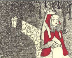 red riding hood by peppinochus