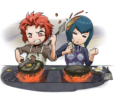 Cooking with Sully by stupjam