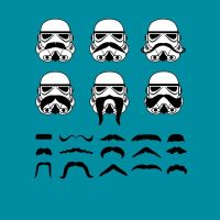 Stache Troopers by AWESwanky