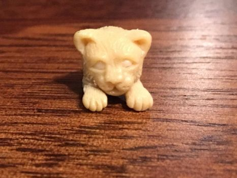 Polymer Clay Kitten Sculpture (in process) by WendysArtwork