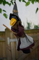 DSC 0047 Crow Witch 1 by wintersmagicstock