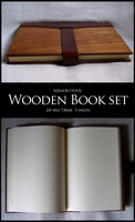Wooden book set by Azenor-stock