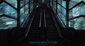 staircase underwater by Unbot