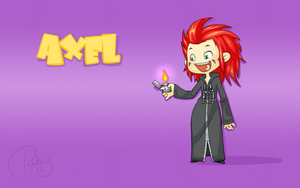 Axel Background by Rahxy
