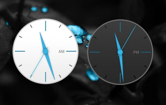 HTC One M9 Analog Clock 2 for xwidget by Jimking