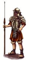 Roman Soldier Figure 2 by Ric-M