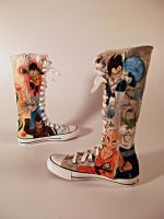 DBZ Shoes 2 by DelishiousKicks