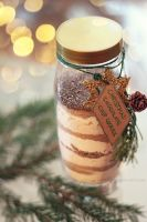 mason jar cookies by cloe-patra