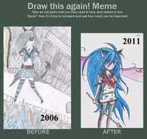 Before and after meme by Catchra13