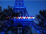 Kings Is Eiffel Tower at Night by WDWParksGal