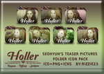 Taetiseo Holler Seohyun's Teasers Folder Icon Pack by Rizzie23