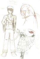 MD - Preliminary Sketches 01 by Teirebe
