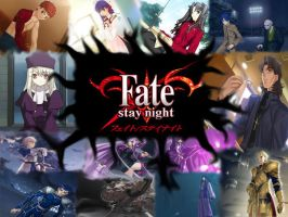 Fate Stay Night Wallpaper by dungeons0