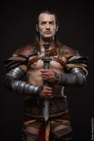 Champion Pride - Gannicus Cosplay from Spartacus by LeonChiroCosplayArt