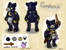 MYO Plushul Event - Constance by Cercus