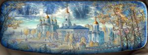 Town of Vladimir by KnyazevSergey