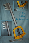 Life Size Keyblade by sgonzales22