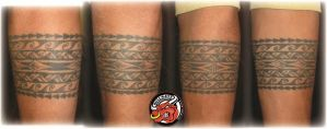 Hawai Band Tattoo arm by DirkDriekusBullseye