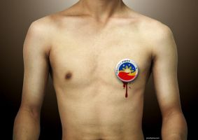 Proud Pinoy Decal by darthkix