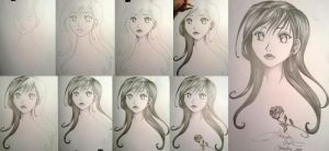 Step by step drawing :D by Violet-Spade