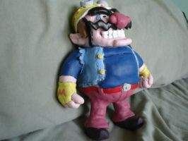 Wario...painted by Whitey594
