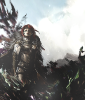 Guildwars Warrior Large Art by Mornothly