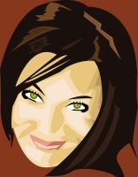 Woman Vector face by Joezf