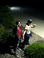 L4D Cosplay: get 'em, Zo by LadyofRohan87