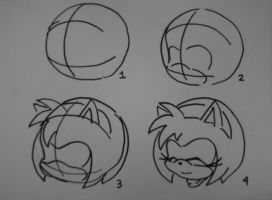 Amy Rose quick tutorial by SMSSkullLeader