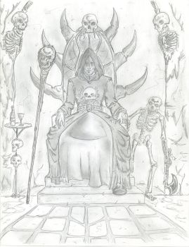 Mannimarco, King of Worms by MoranThir