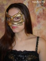 M. in Draconian Mask in Copper by che4u